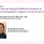 Workshop on Using Arts as Regular Reflective Practice to Prevent Compassion Fatigue in End-of-Life Care
