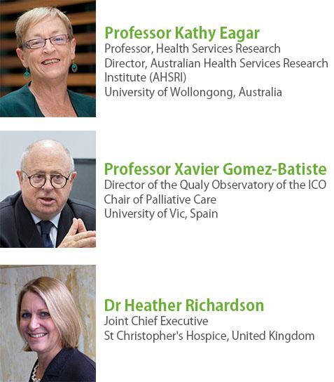 Keynote speakers front
